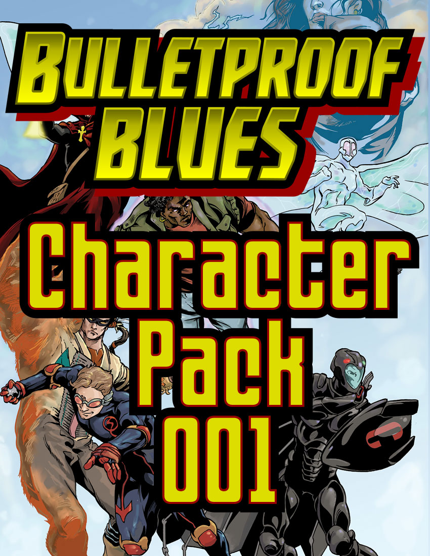 Bulletproof Blues Character Pack 001