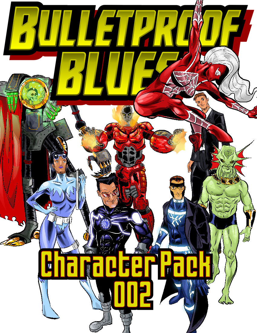 Bulletproof Blues Character Pack 002