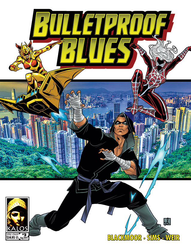 Bulletproof Blues Second Edition print cover