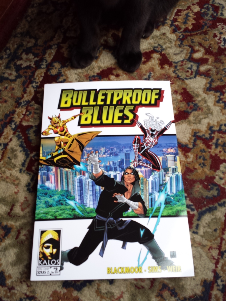 Bulletproof Blues front cover