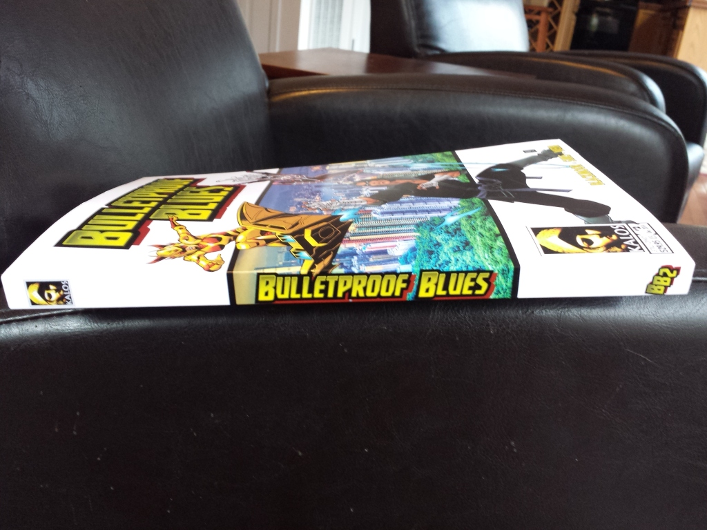Bulletproof Blues spine