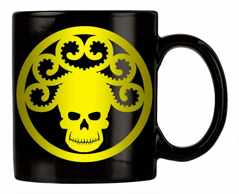 Golden Age GORGON logo mug