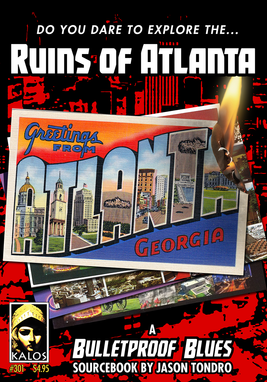 Ruins Of Atlanta by Jason Tondro