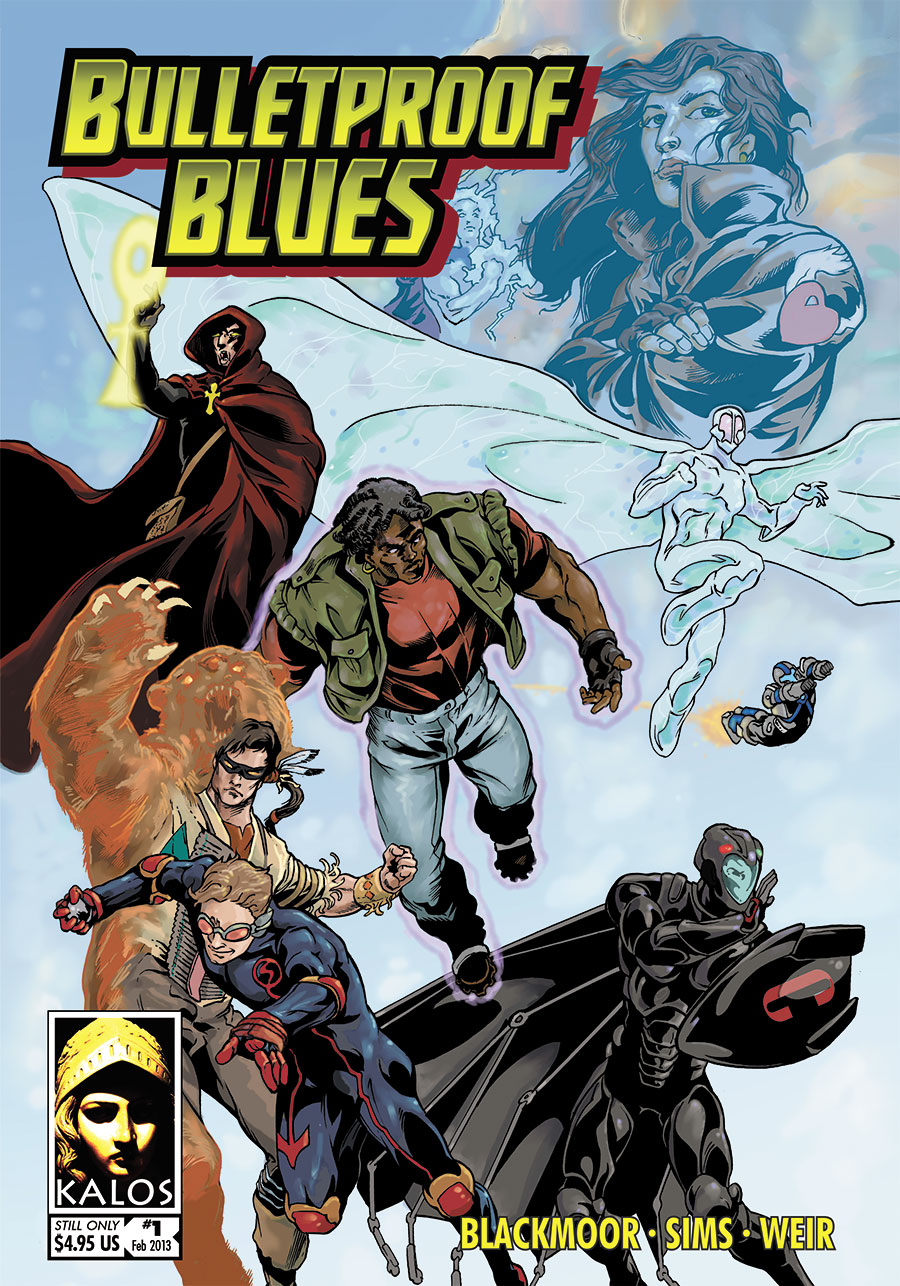 Bulletproof Blues 1e cover
