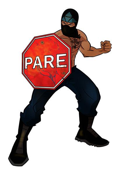 Pare Man (Marcos Martinez)